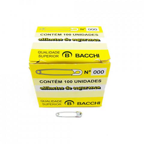 ALFINETE BACCHI SEG NIQUEL. 000 C/100