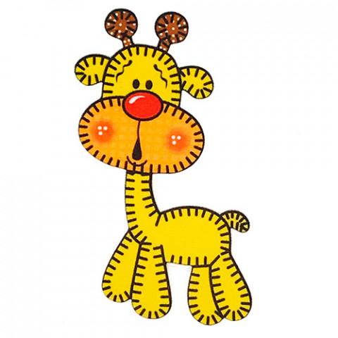 Aplique Visa Vs0480 Girafa C/2