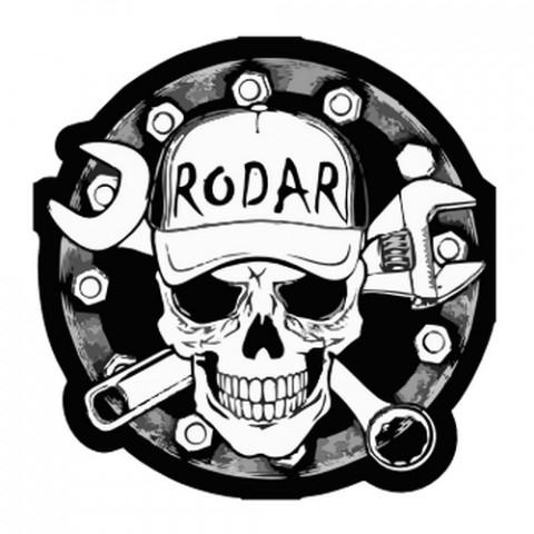 Aplique Visa Vs0903 Caveira Radar C/2