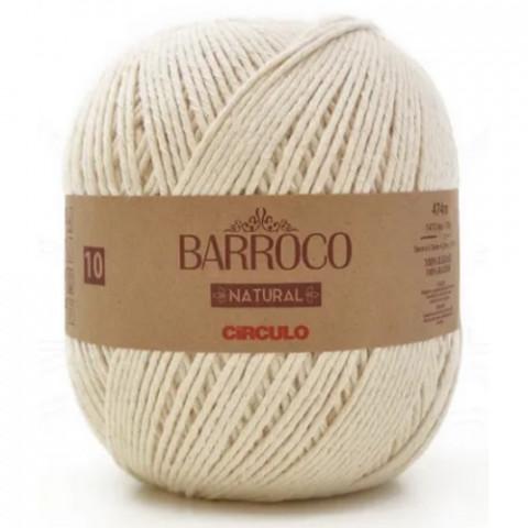 BARBANTE CIRCULO BARROCO NATUR 10 474M