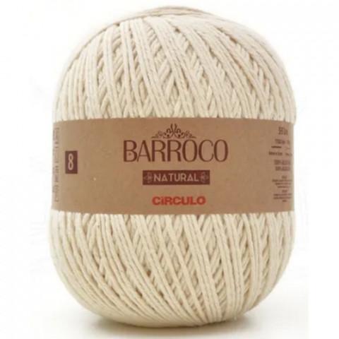 BARBANTE CIRCULO BARROCO NATUR 08 593M