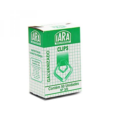CLIPS IARA GALVANIZ N 3/0 GRANDE C/50