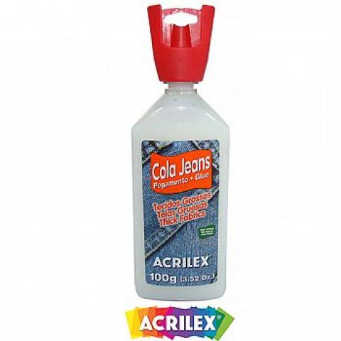 COLA ACRILEX 17910 JEANS 3X100G