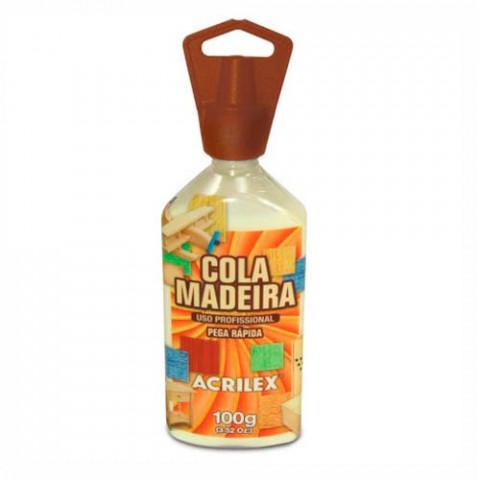 COLA ACRILEX 22510 MADEIRA 3X100G