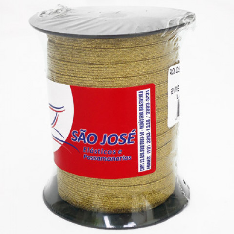 ELASTICO SAO JOSE 12R 6MM METAL. C/50M