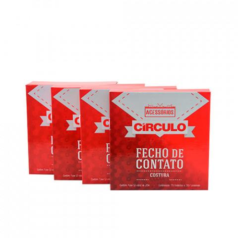 FECHO CIRCULO COSTURA 20MM 3/4P C/25M