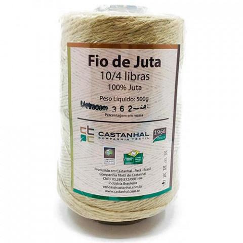 FIO CASTANHAL JUTA 10/4 500G