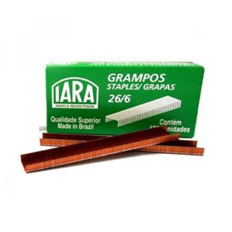 GRAMPO IARA 26/6 COBREADO C/5000