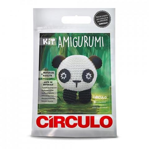 KIT CIRCULO AMIGURUMI 3 PANDA