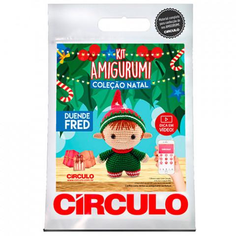 Kit Circulo Amigurumi Natal2 D Fred