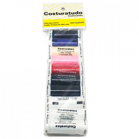 LINHA COSTURATEX COSTURA SORT 10X100M