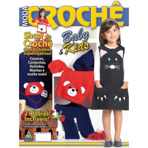 REVISTA LIBERATO CRO114 MODA CROCHE BABY