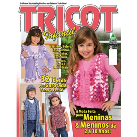 REVISTA LIBERATO TRI056 TRICOT INFANTIL