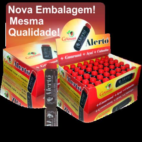 Alerto- Açaí e Catuaba 10 ml cx c/ 48un.