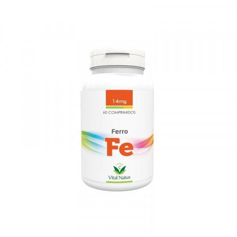Ferro (Fe) 60 comprimidos 14mg - Vital Natus