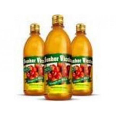 Vinagre de maçã Senhor Viccino /Zero Açúcar