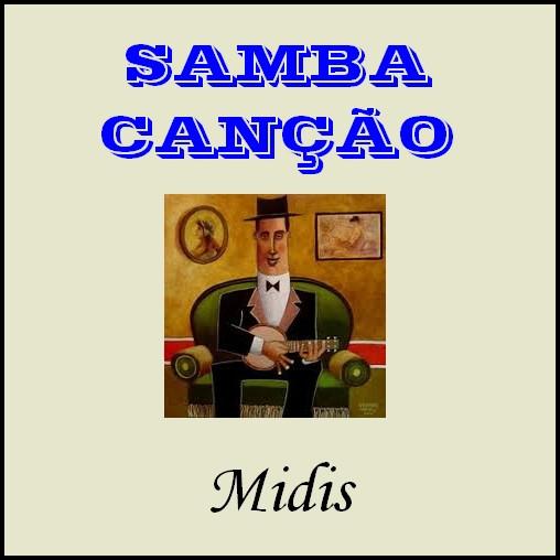 COLEÇAO SAMBA-CANÇAO (40 midis)