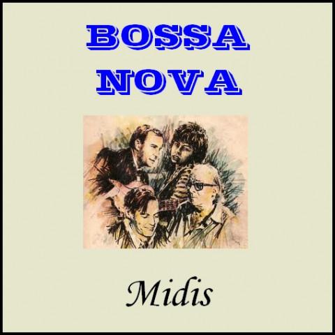 COLEÇAO BOSSA-NOVA (120 midis)