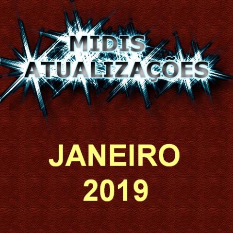 Midis Atualizações - Janeiro 2019
