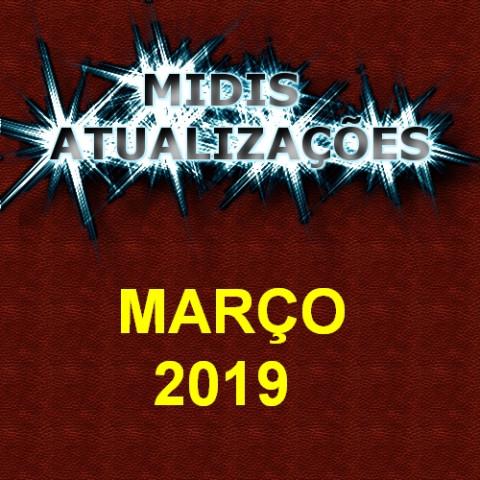 Midis Atualizações - Março 2019