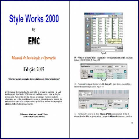 Manual do Style Works 2000