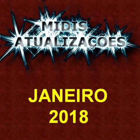 Midis Atualizações - Janeiro 2018