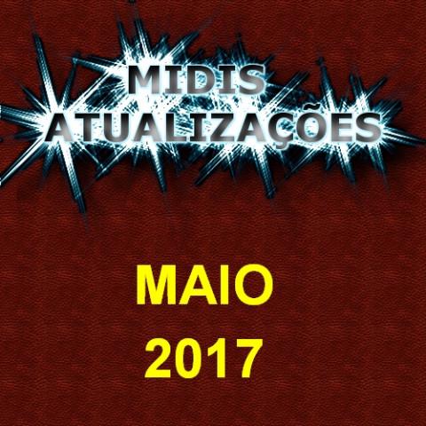 Midis Atualizações - Maio de 2017 (16 midis)