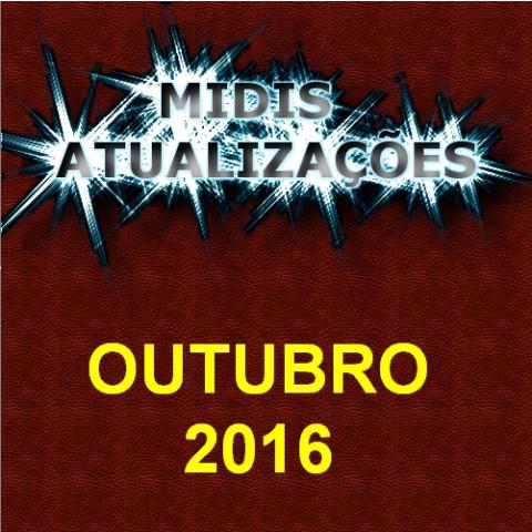 Midis Atualizações - Outubro 2016 (51 midis)