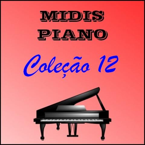 Midis Piano - Coleção 12 (18 midis)
