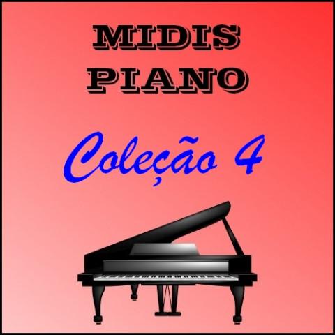 Midis Piano - Coleção 4 (17 midis)
