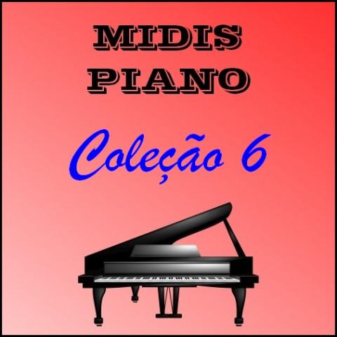 Midis Piano - Coleção 6 (17 midis)