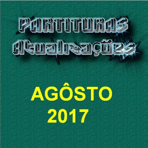 Partituras Atualizações - Agôsto 2017
