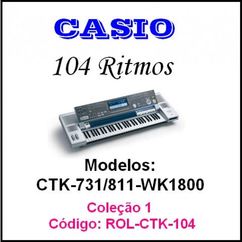 Rítmos Casio 1 (104 ritmos)
