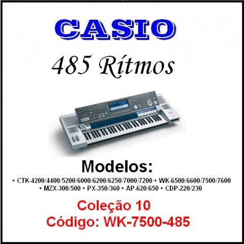 Ritmos Casio 10 (485 ritmos)