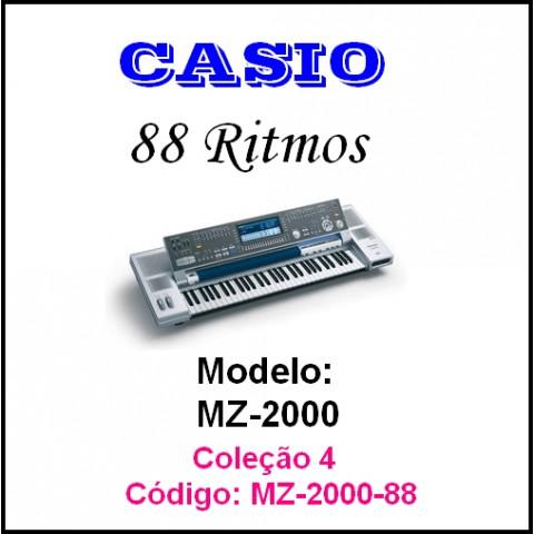 Rítmos Casio 4 (88 ritmos)