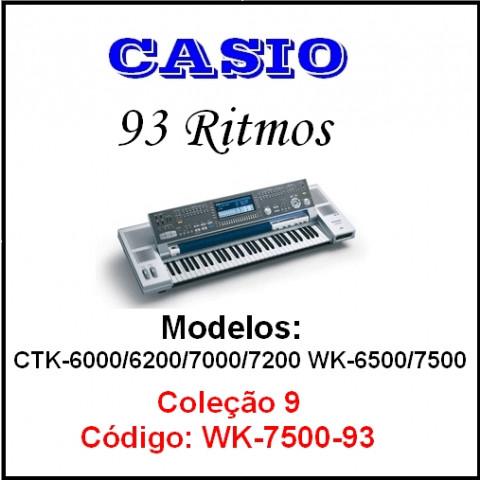 Rítmos Casio 9 (93 ritmos)