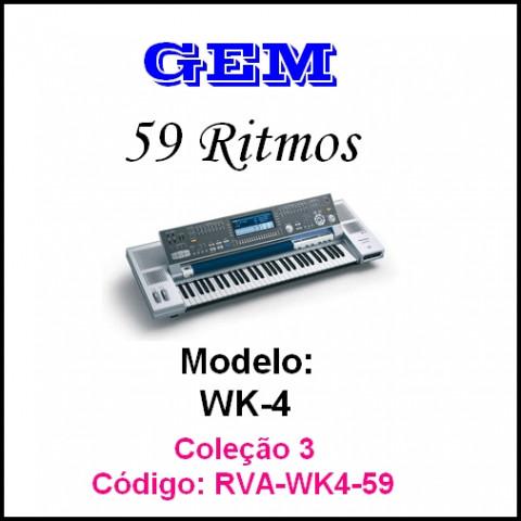 Rítmos Gem 3 (59 ritmos)