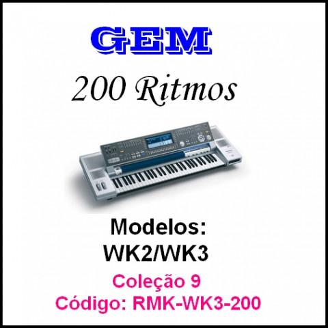 Rítmos Gem 9 (200 ritmos)