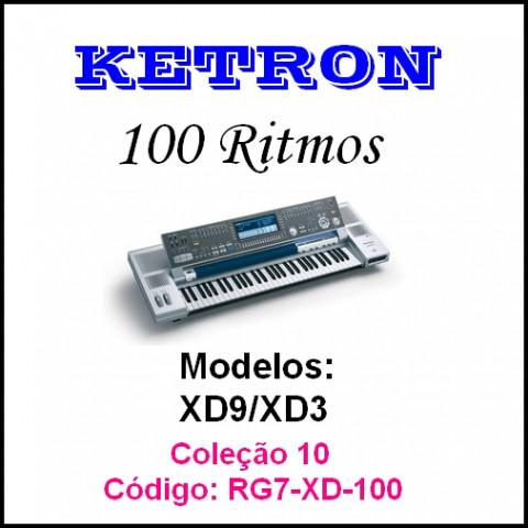 Rítmos Ketron 10 (100 ritmos)