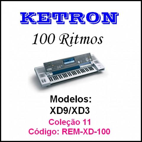 Rítmos Ketron 11 (100 ritmos)