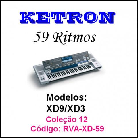 Rítmos Ketron 12 (59 ritmos)