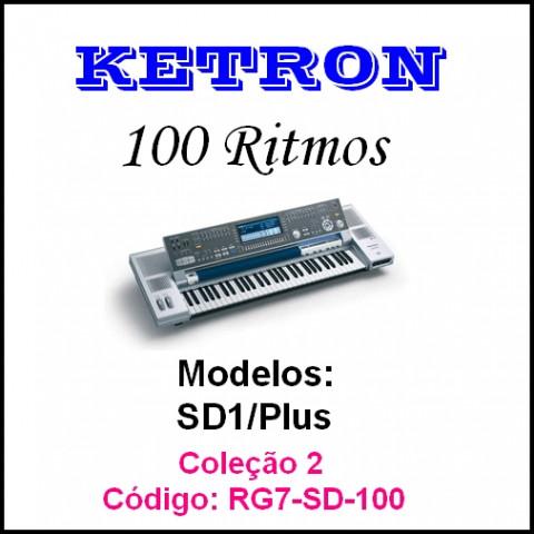 Rítmos Ketron 2 (100 ritmos)