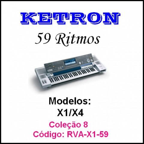 Rítmos Ketron 8 (59 ritmos)