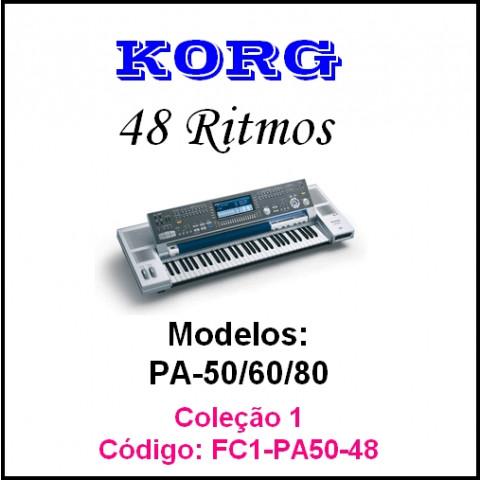 Rítmos Korg 1 Forro (48 ritmos)