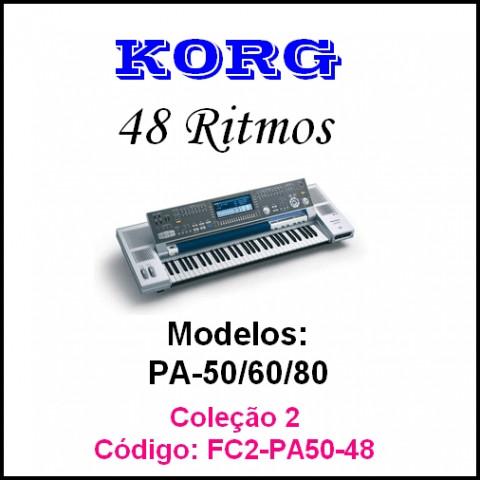 Rítmos Korg 2 Forro (48 ritmos)