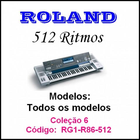 Rítmos Roland 6 (512 ritmos)