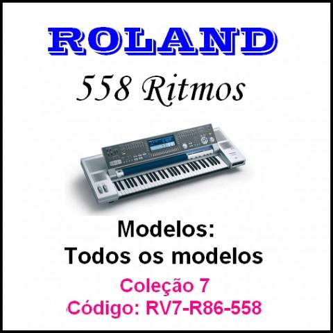 Rítmos Roland 7 (558 ritmos)