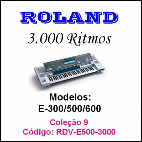 Rítmos Roland 9 (3.000 ritmos)