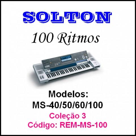 Rítmos Solton 3 (100 ritmos)