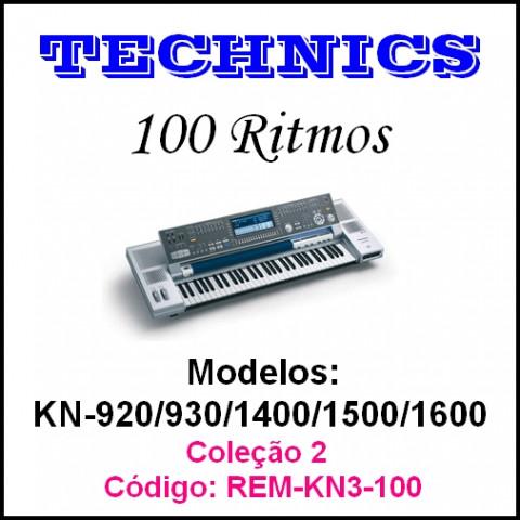 Rítmos Technics 2 (100 ritmos)